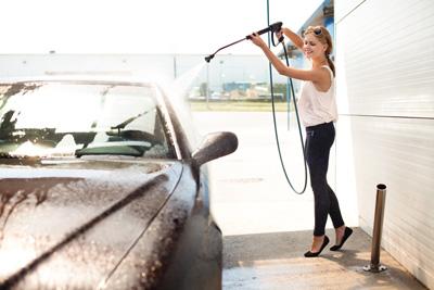 Handwashing a Car